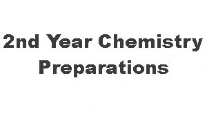 2nd Year Chemistry MCQs With Answers Chapter Wise