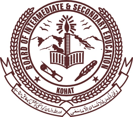 BISE Kohat Board 9th and 10th Class Date Sheet 2018
