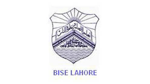 BISE Lahore Board 10th Matric Class Date Sheet 2017