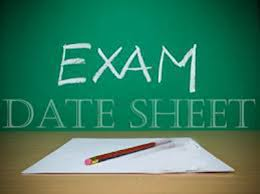 BISE Quetta Board 9th And 10th Class Date Sheet 2016