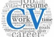 How To Write CV for An Internship