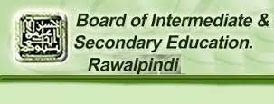 BISE Rawalpindi Board 10th Class Date Sheet 2018 RWP Download