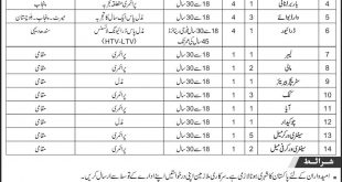 CMH Malir Cantt Karachi Jobs 2017 Form, Last Date Test And Interview