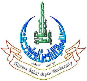 AIOU Roll Number Slips 2016 Online Allama Iqbal Open University