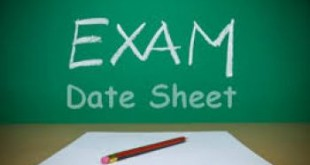 BISE Lahore Board 12th Class Date Sheet 2016 FA, FSC, ICS, ICom