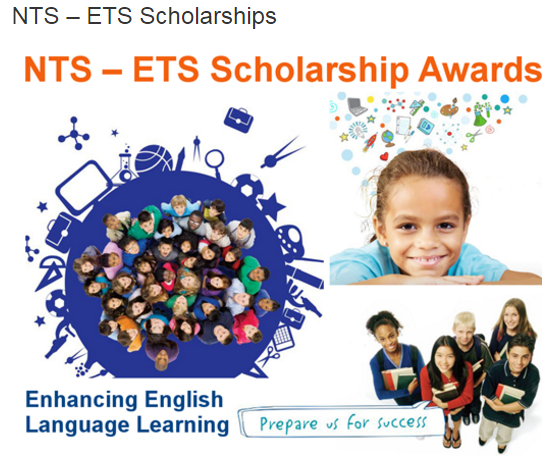 ETS Scholarship Awards 2017 TOEFL, TOEIC NTS Form Download