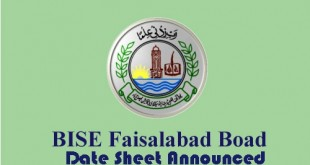 Faisalabad Board 9th Class Date Sheet 2015 Download Science, Arts Group