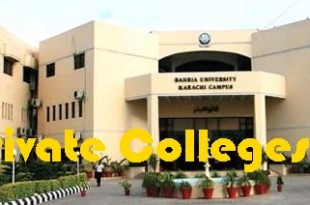 List Of Best Private Colleges In Karachi With Address