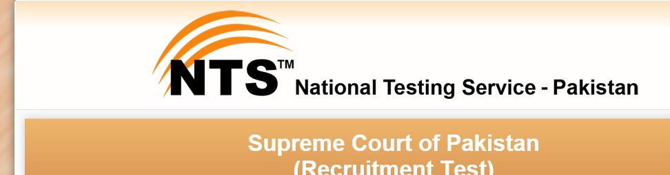 NTS Sample Papers For Supreme Court Of Pakistan Jobs
