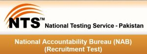 NTS Test Sample Papers For NAB Assistant Director, Dy Director, Investigation Officer