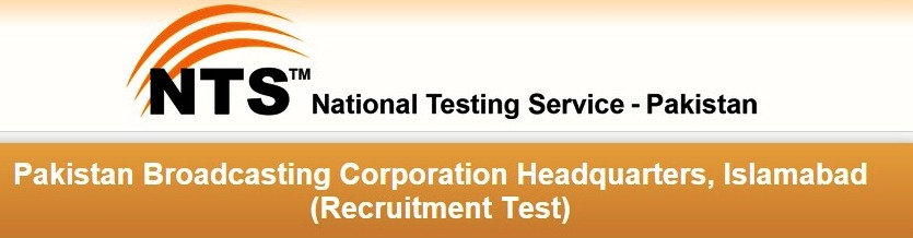 NTS Test Sample Papers For Pakistan Broadcasting Corporation Islamabad