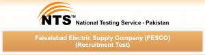 NTS Test Sample Papers for FESCO Faisalabad Jobs 2015 Download