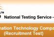 PITC Jobs NTS Test Sample Papers Download Online