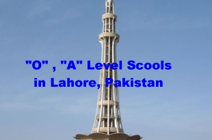 best schools in lahore for O Levels, A Levels