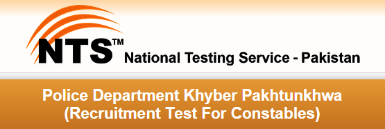 KPK Police Constable NTS Test Date 2015 Roll No Slips Download