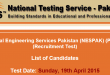 NESPAK NTS Test Result 2015 19th April Answer Keys