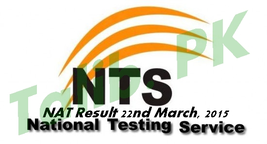 NTS NAT Test Result 22 March 2015 Check Online
