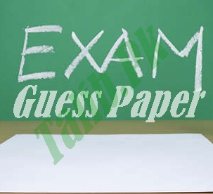 Urdu Guess Paper 9th Class 2017 Lahore Board Important Questions
