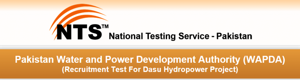 WAPDA Dasu Hydropower NTS Test Result 2015 Answer Keys