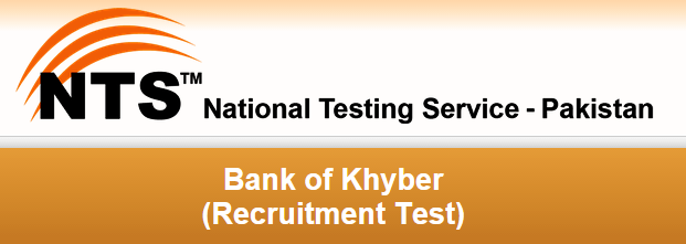 Bank Of Khyber MTO NTS Test Result 2015 3rd May