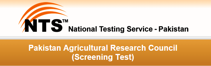 Pakistan Agricultural Research Council NTS Test Date 2015 Roll No Slips
