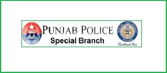 Special Branch Punjab Police Roll No Slips 2015 Selected Candidates List