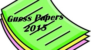 1st Year Math Guess Paper 2015 Lahore Board Inter Part 1