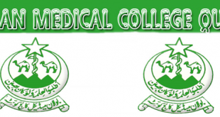 Bolan Medical College Admission 2018 Requirements