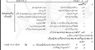 Pakistan Rangers Sindh Jobs April 2019 Sipahi, Sub Inspector Advertisement