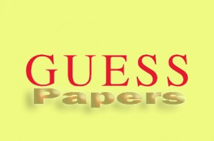 Statistics Guess Paper 2020 12th Class Lahore Board