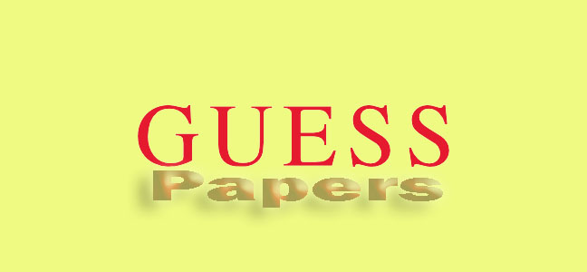 Statistics Guess Paper 2017 12th Class Lahore Board