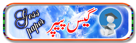 Urdu Guess Paper 2nd Year 2016 Lahore Board 12th Class Questions