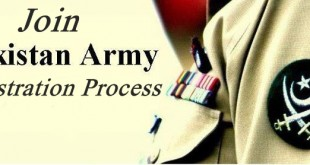 Join Pak Army Registration 2017 Online Forms Procedure Criteria