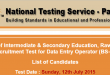 BISE Rawalpindi Data Entry Operator Jobs NTS Test Result 2015 12th July