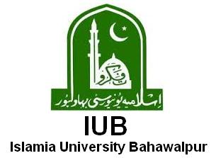 Islamia University Bahawalpur IUB Admission Fall 2016 Online MPhil, MS, MSc, Phd