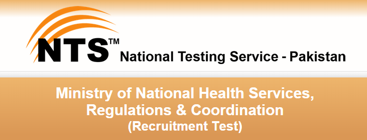 Ministry Of National Health Services Islamabad Jobs 2015 NTS Form Assistant, Stenotypist 2