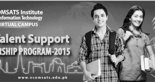 COMSATS Islamabad NTS Talent Support Scholarship 2015 Apply Online, Last Date - Copy