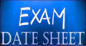 Faisalabad Board Matric 10th Class Supplementary Date Sheet 2015 Science, Arts