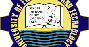 UET Lahore Entry Test Result 2017 Online By Name