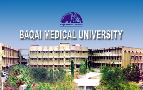 baqai medical university admissions 2017 MBBS, BDS, Pharm D 1