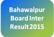 Bahawalpur Board 1st Year Result 2015 Gazette Search By Name, Roll No