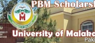 University Of Malakand UOM Scholarships 2015 PBM Application Form Date