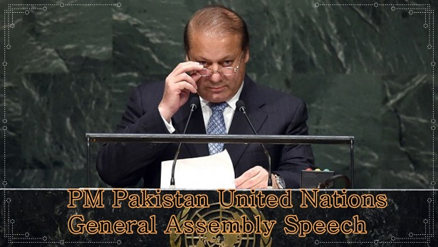 PM Pakistan United Nations General Assembly Speech