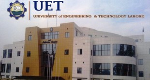 UET Lahore Entry Test Merit List 2015 1st Selected Candidates List