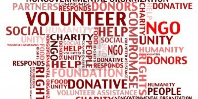 volunteerism to help the society