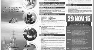 Join Pakistan Navy As Doctor Jobs 2015 Through M Cadet Scheme Online Registration Date