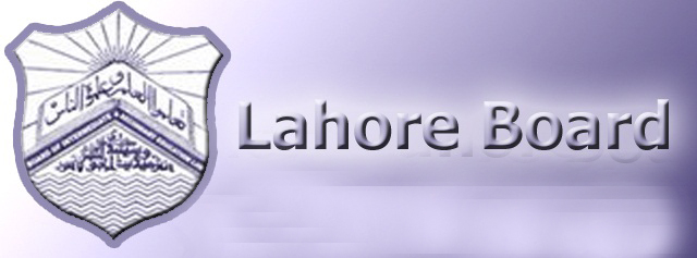 10th Class Date Sheet 2017 Lahore Board Science, Arts Group
