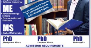 IBA Sukkur MS, M.Phil, PhD Admissions 2017 Form Download Date