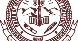 BISE Kohat Board 9th Class Result 2018 Annual Online By Name