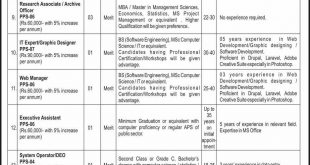 China Pakistan Economic Corridor Jobs 2018 NTS Application Form Last Date